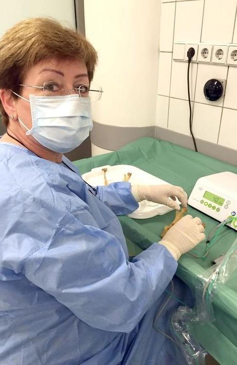 Dr. Stefaniak beim Humanpräparatekurs © OT medical = Bildquelle